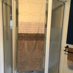 KAS Embroidered Shower Curtain